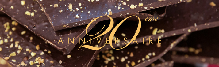 Salon du chocolat a 20 ans