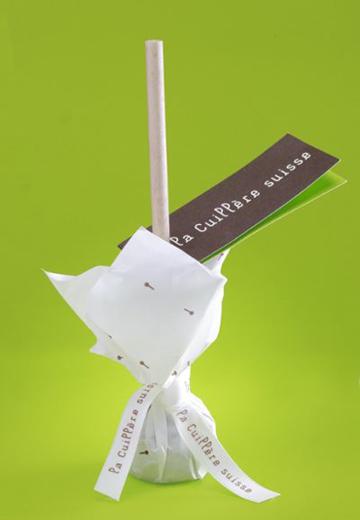 Cuillère suisse chocolat