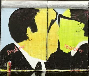 Mur de Berlin en chocolat