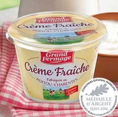 "crème fraiche ""Poitou-Charentes"""