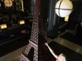 Tour Eiffel en chocolat à la gare de Londres