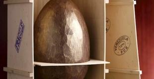 Des oeufs de Pâques, véritables oeuvres d'art