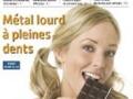 Du cadmium cancérigène dans le chocolat !