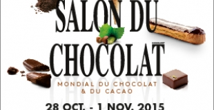 Le Salon Mondial du Chocolat du 28 octobre au 1er novembre 2015