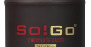 Des sauces chocolat So!Go prêtes à l'emploi