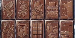 Des timbres senteur chocolat en vente dès le 25 mai 2009
