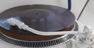 Un disque vinyle en chocolat !