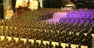 Un parc merveilleux du chocolat en Chine