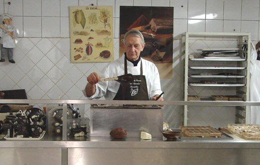 Le Muséedu cacao et du chocolat de Bruxelles