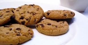Véritables cookies à  l'américaine
