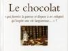 Le chocolat de Nicole Cholewka