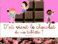 D'où vient le chocolat de ma tablette ? de Karine Harel
